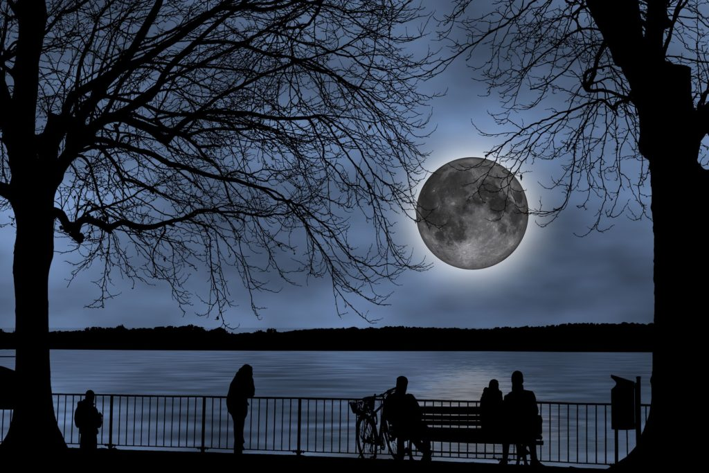 Mondstellung im Horoskop. Blog Heilpraxis Monika Reisinger-Ausfelder Bayerbach, Ergoldsbach, Landshut, München