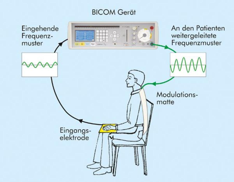 BICOM-Methode Heilpraxis Landshut. Bioresonanz Frequenzen Heilpraktiker